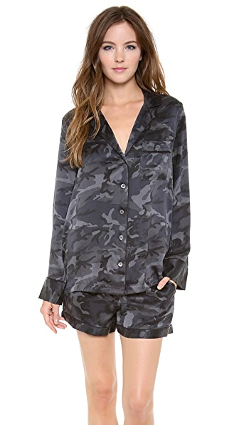 Equipment Lillian Camo Pajama Set