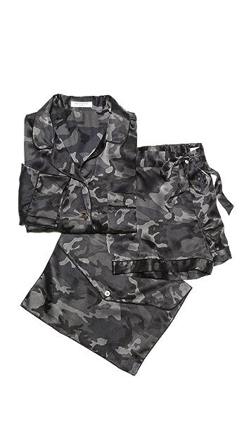 Equipment Lillian Camo Pajama Set