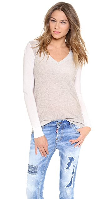 Equipment Chelsea V Neck Sweater