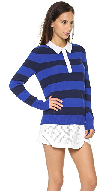 Equipment Deandra Polo Sweater