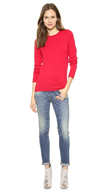 Equipment Sloan Cashmere Crew Neck Sweater