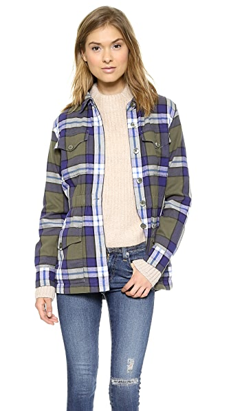 Equipment Monroe Flannel Jacket