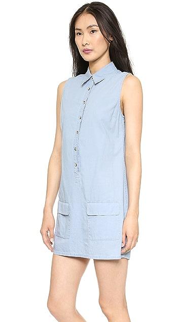 Equipment Sleeveless Lucida Dress