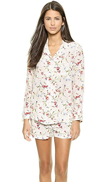 Equipment Lillian Silk Pajama Set