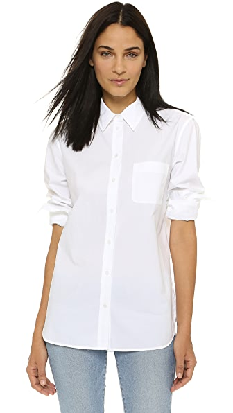 Equipment Kenton Blouse - Bright White