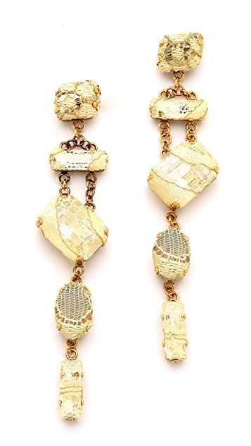 Erickson Beamon Smoke & Mirrors Earrings
