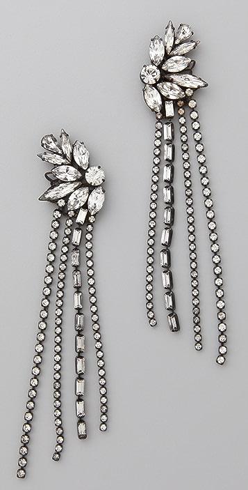 Erickson Beamon Chain Gang Earrings