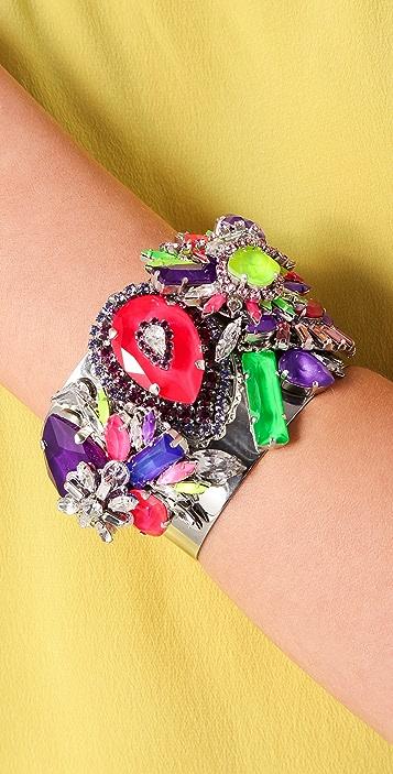Erickson Beamon Color Me Crazy Bracelet