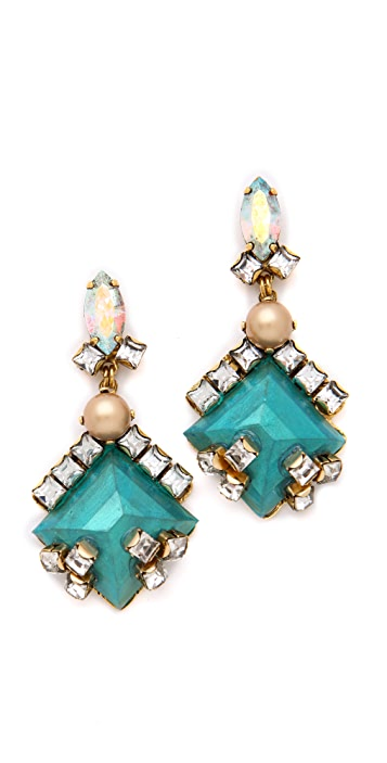 Erickson Beamon Key Largo Earrings