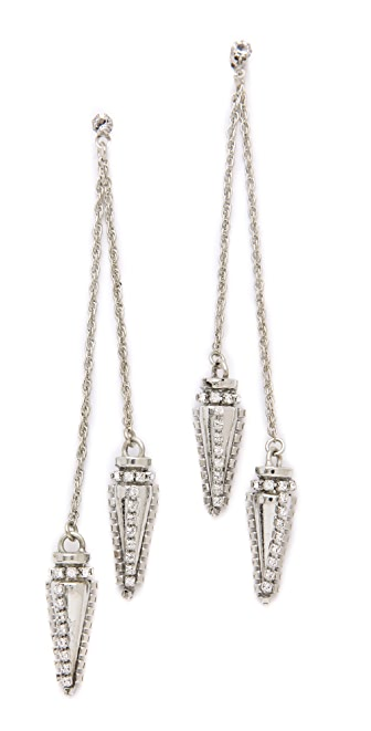 Erickson Beamon Frostbite Earrings