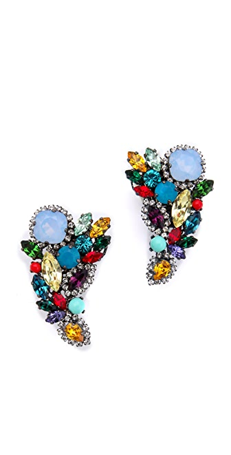 Erickson Beamon Modern Moghul Earrings