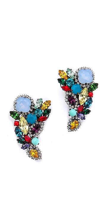 Erickson Beamon Modern Moghul Earrings