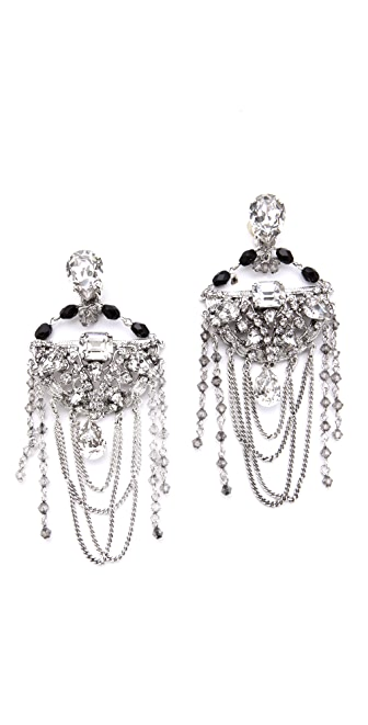 Erickson Beamon Midnight Lace Earrings
