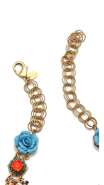 Erickson Beamon Rose Garden Bib Necklace