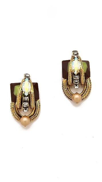 Erickson Beamon Key Largo Earrings
