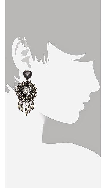 Erickson Beamon Blue Nile Earrings