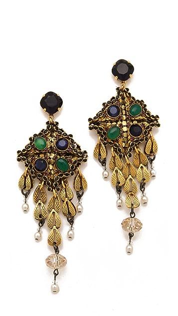 Erickson Beamon Byzantium Earrings
