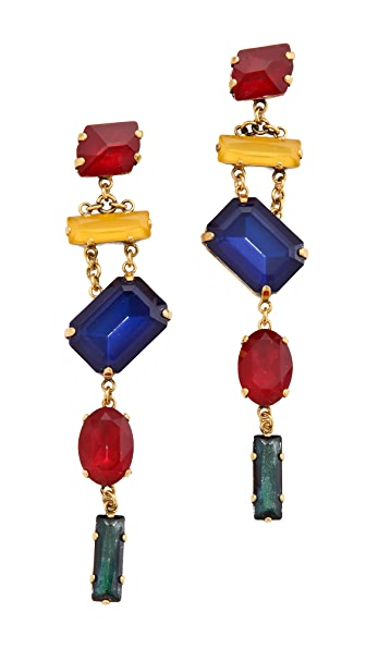 Erickson Beamon Blue Nile Envy Earrings