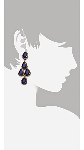 Erickson Beamon Duchess Earrings