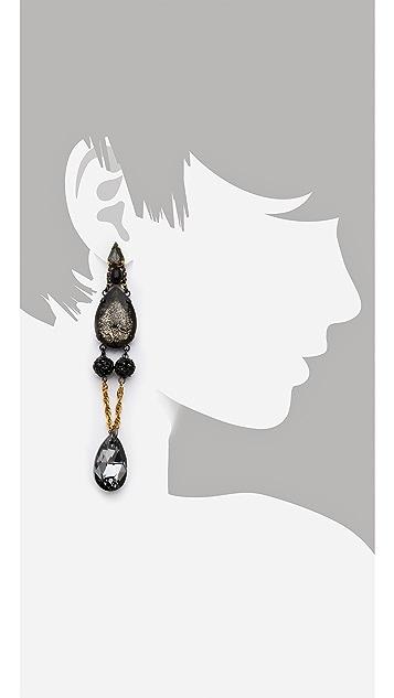 Erickson Beamon Blue Nile Drop Earrings