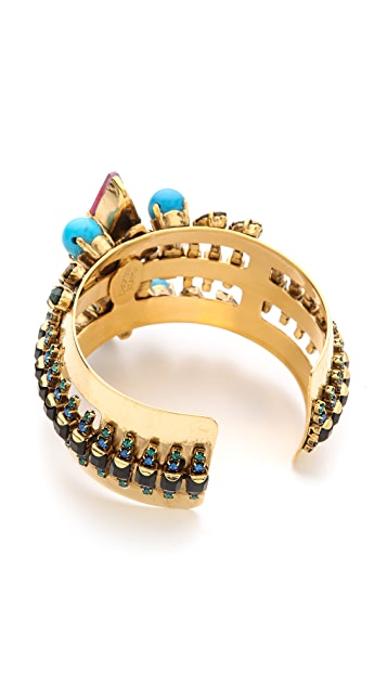 Erickson Beamon Aquarella Do Brasil Cuff