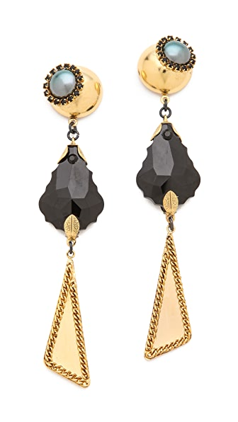 Erickson Beamon Girls on Film Drop Earrings