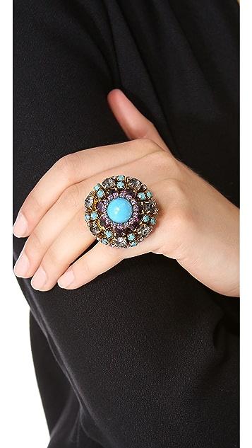 Erickson Beamon Girls on Film Oversized Ring