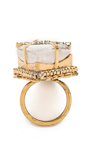 Erickson Beamon Whiter Shade of Pale Ring