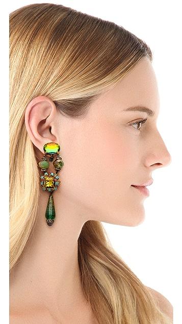 Erickson Beamon Girls On Film Earrings