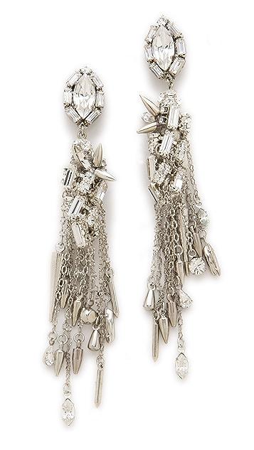 Erickson Beamon The Shining Crystal Drop Earrings
