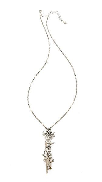 Erickson Beamon The Shining Crystal Pendant Necklace