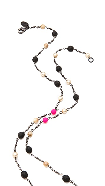 Erickson Beamon Take Everything Lariat Necklace