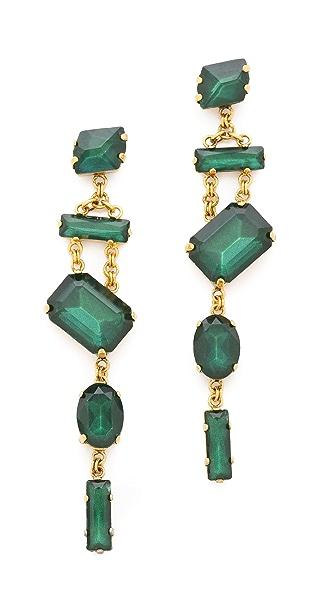 Erickson Beamon Family Jewels Drop Earrings