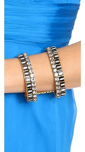 Erickson Beamon Velocity Cuff Bracelet