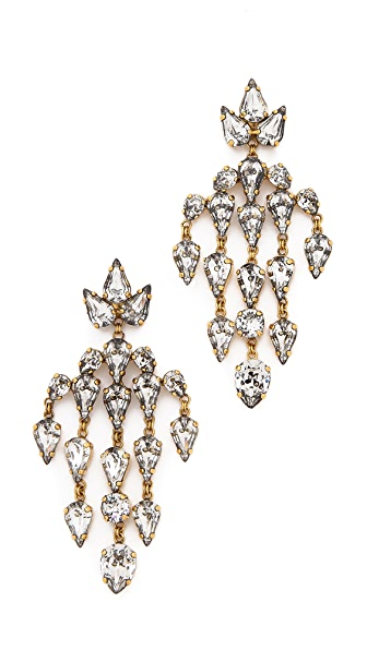 Erickson Beamon Velocity Chandelier Earrings
