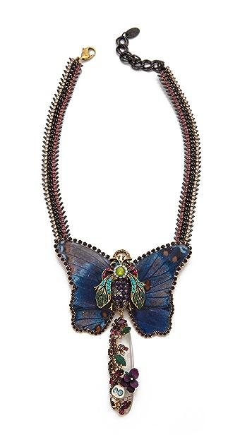 Erickson Beamon Butterflies Are Free Necklace