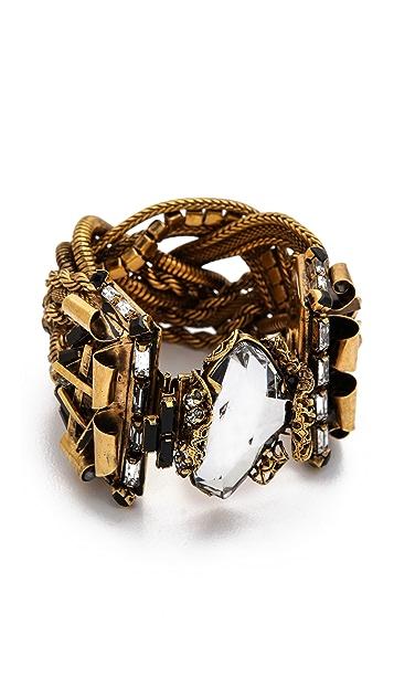 Erickson Beamon Velocity Crystal Embellished Bracelet