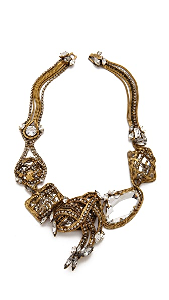 Erickson Beamon Heart of Gold Necklace