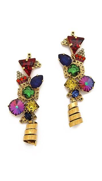 Erickson Beamon Electric Avenue Earrings
