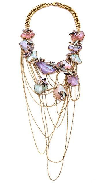 Erickson Beamon Cosmic Code Necklace