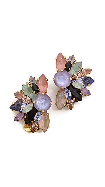 Erickson Beamon Cosmic Code Fan Earrings