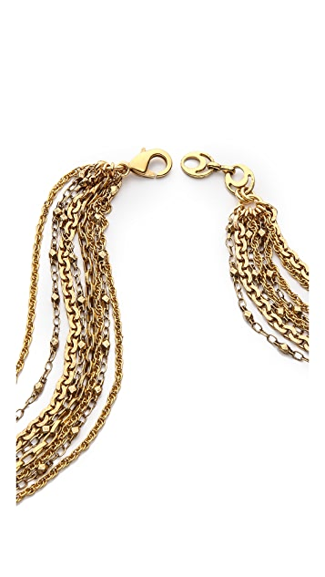 Erickson Beamon Urban Jungle Draping Necklace