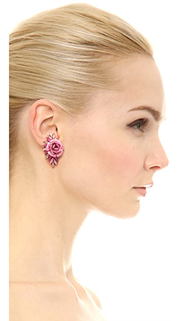 Erickson Beamon Urban Jungle Earrings