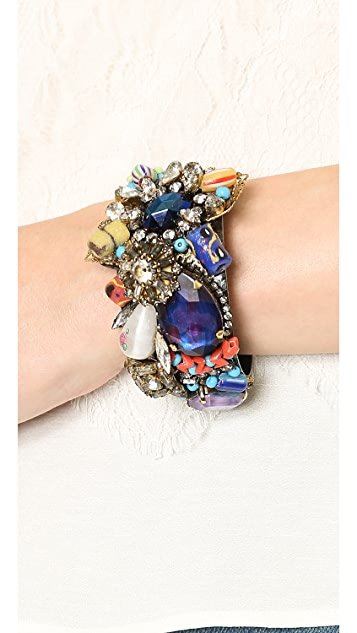 Erickson Beamon Fashion Tribe Cuff Bracelet