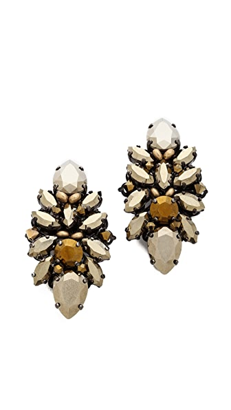 Erickson Beamon Golden Rule Earrings