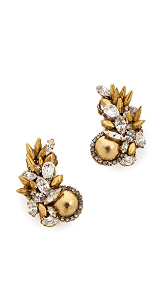 Erickson Beamon Velocity Earrings