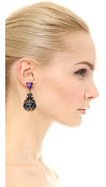 Erickson Beamon Talitha Drop Earrings