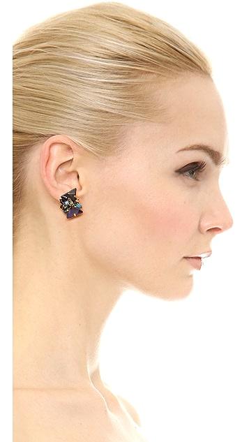Erickson Beamon Talitha Stud Earrings