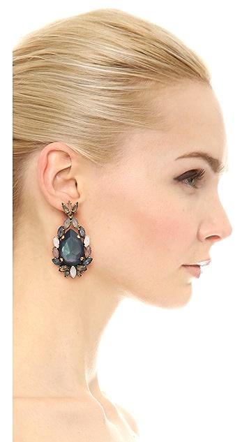 Erickson Beamon Crystal Earrings