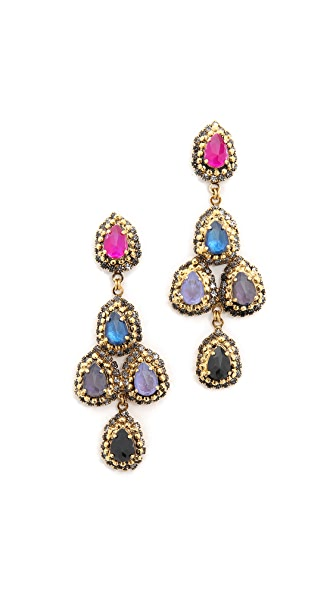 Erickson Beamon Teardrop Earrings